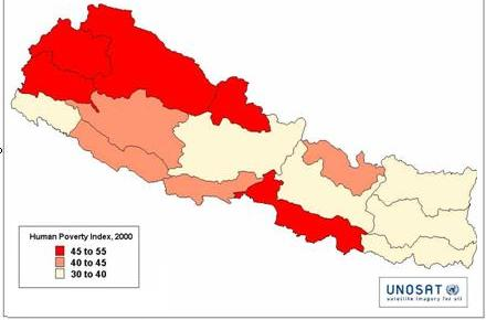 regional poverty in Nepal
